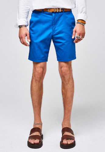 Yan13얀써틴 STANDARD CHINO SHORTS_BLUE