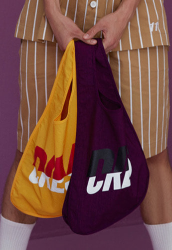 DIM.E.CRES.딤에크레스 DIM. UNBALANCE ECO BAG_PURPLE