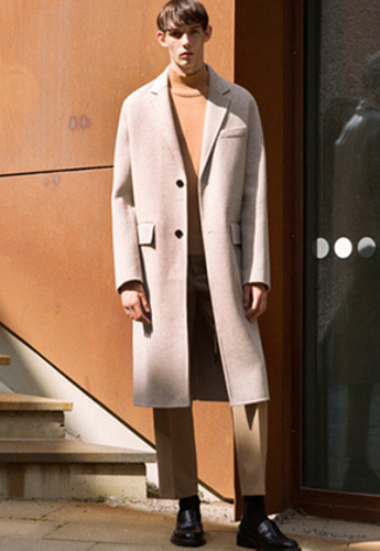 Anderssonbell앤더슨벨 VINCENT HANDMADE WOOL COAT awa114m Beige