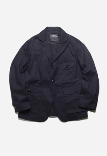 FRIZMWORKS프리즘웍스 Wailor setup blazer jacket navy