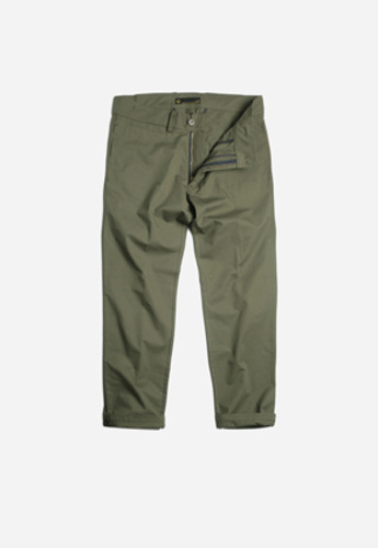 FRIZMWORKS프리즘웍스 Wailor setup trousers olive