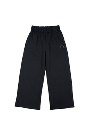 AJO BY AJO아조바이아조 Wide Jersey Pants (Black)