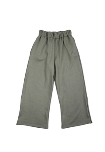 AJO BY AJO아조바이아조 Wide Jersey Pants (Khaki)
