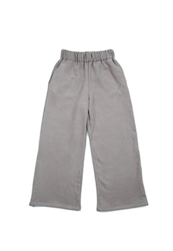 AJO BY AJO아조바이아조 Wide Jersey Pants (Warm Grey)