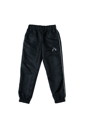 AJO BY AJO아조바이아조 Solid Jogger Pants (Black)
