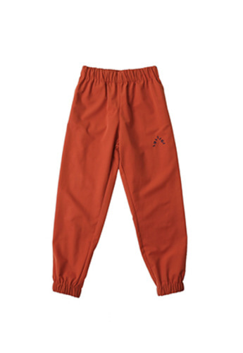 AJO BY AJO아조바이아조 Solid Jogger Pants (Orange)