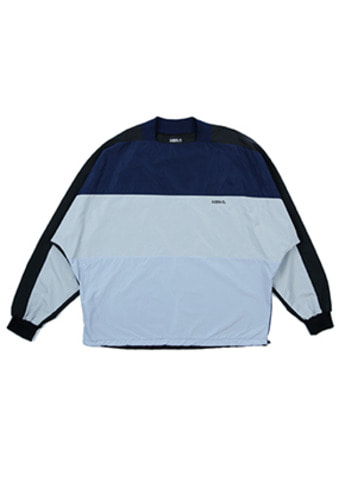 AJO BY AJO아조바이아조 Over Square Top (Navy)