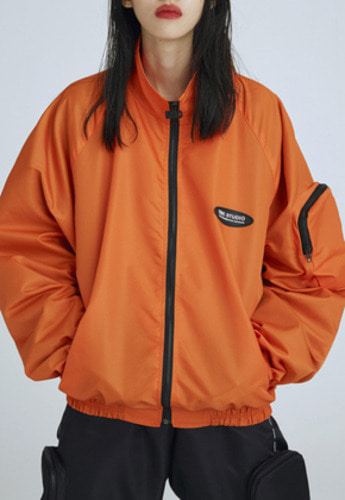 ESC Studio이에스씨스튜디오 pocket training jumper orange