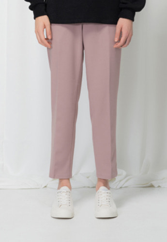 Reve De Agneau레브드앙뉴 FLEXIBLE BANDING SLACKS(PINK)