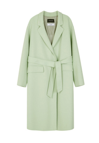 Anderssonbell앤더슨벨 GRACE OVERSIZED CASHMERE HANDMADE COAT awa116w Fresh Mint