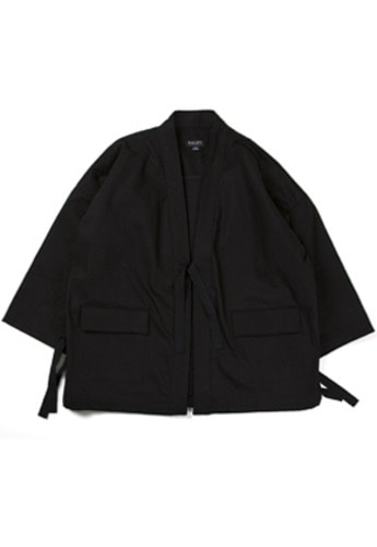 Ballute발루트 U.S.N SALVAGE ROBE JACKET (BLACK)
