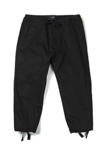 Ballute발루트 U.S.N SALVAGE STRING PANTS (BALCK)