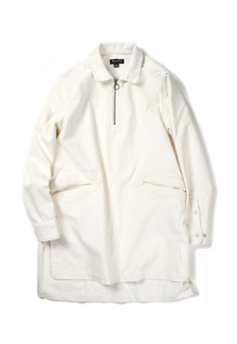 Ballute발루트 O-RING LONG TUNIC SHIRT(OFF WHITE)