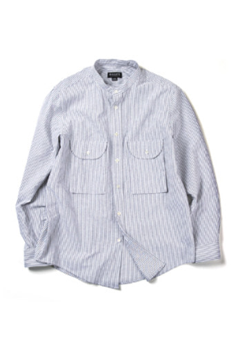 Ballute발루트 SAFARI UTILITY SHIRT (STRIPE)