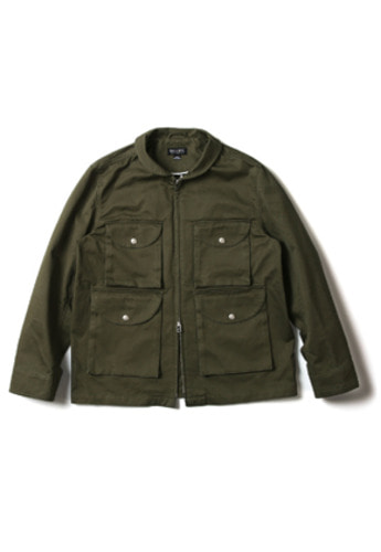 Ballute발루트 4POCKET FLIGHT JACKET (OLIVE)