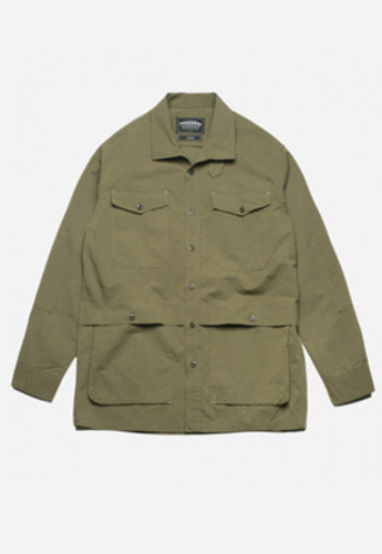 FRIZMWORKS프리즘웍스 TACTICAL SHIRT JACKET OLIVE
