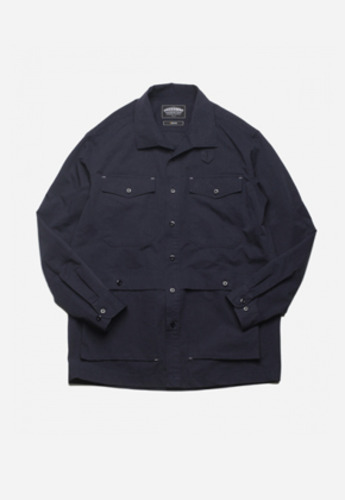 FRIZMWORKS프리즘웍스 TACTICAL SHIRT JACKET NAVY