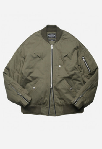 FRIZMWORKS프리즘웍스 CLOUT MA-1 FLIGHT JACKET OLIVE