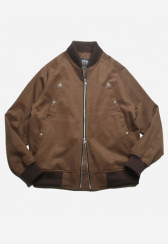 FRIZMWORKS프리즘웍스 QUARTET BLOUSON JACKET BROWN