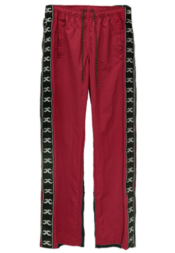 MPQ엠피큐 KAI TRACK SUIT PANTS (BURGUNDY)