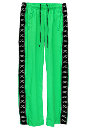 MPQ엠피큐 KAI TRACK SUIT PANTS (NEON GREEN)
