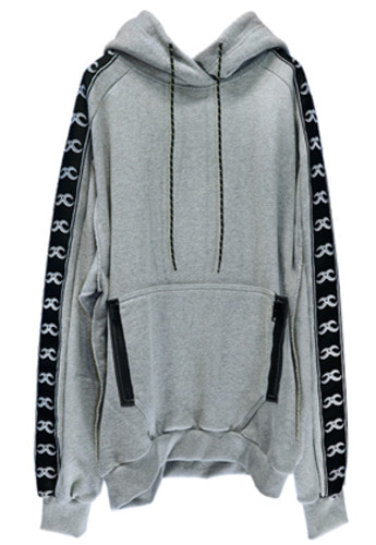 MPQ엠피큐 KAI_WASHED COTTON HOOD SWEATER (GRAY)