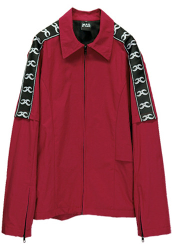 MPQ엠피큐 KAI_TRACK SUIT JUMPER (BURGANDY)