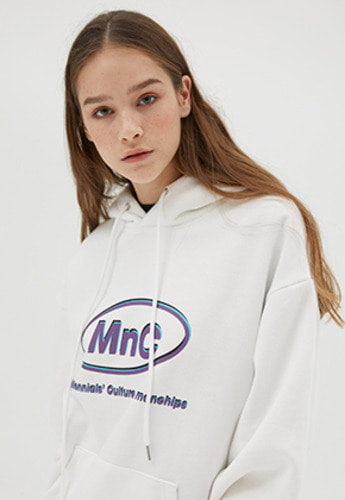 McnChips맥앤칩스 MNC STABLE HOODIE [white]