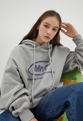 McnChips맥앤칩스 MNC STABLE HOODIE [gray]