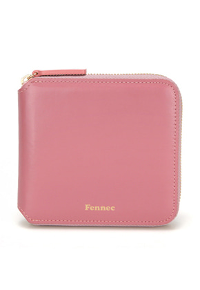 Fennec페넥 ZIPPER WALLET ROSE PINK