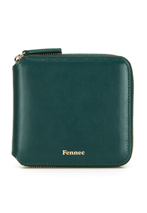 Fennec페넥 ZIPPER WALLET MOSS GREEN