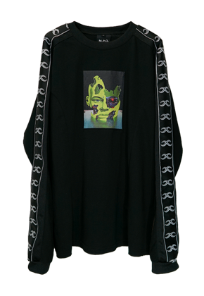 MPQ엠피큐 NEO HUMAN_LONG SLEEVE (BLACK)