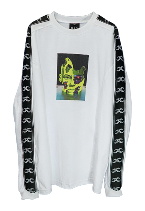 MPQ엠피큐 NEO HUMAN_LONG SLEEVE (WHITE)