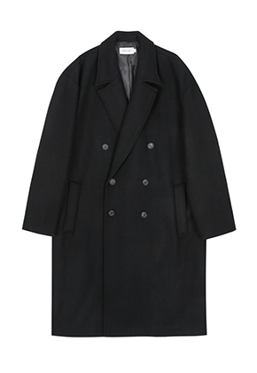Takemethere테이크미데어 SOLACE Oversized Coat (Black)