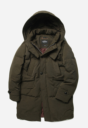 FRIZMWORKS프리즘웍스 Transform long down parka _ olive