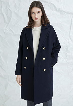 Millogrem밀로그램 Blume Coat_Navy