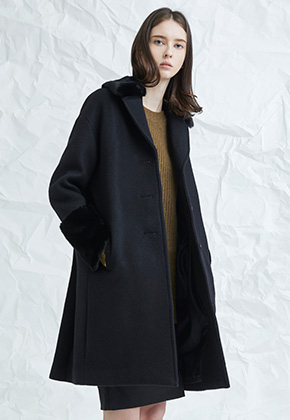 Millogrem밀로그램 Pida Single Coat_Black