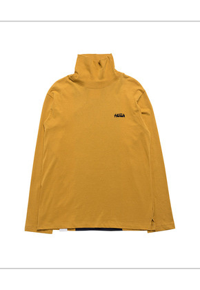 HANAH하나 HIGHNECK T-SHIRT(YELLOW)