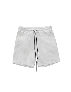 011 Towel Lounge Shorts (white)