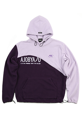 AJOBYAJO Fleece Hood [Purple]