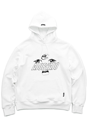 AJO BY AJO아조바이아조 Oh-Face Hood [White]