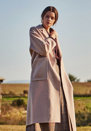 Yan13얀써틴 ONE BUTTON HANDMADE WOOL COAT_BEIGE