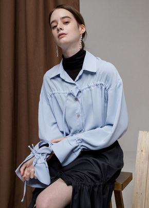 Ainsinov앙시노브 STRING BLOUSE