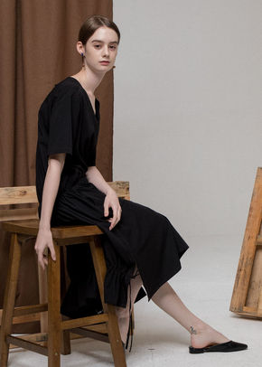 Ainsinov앙시노브 STRING DRESS (BLACK)