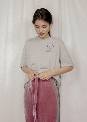 Ainsinov앙시노브 BIGWAVE T-SHIRT (GREY)