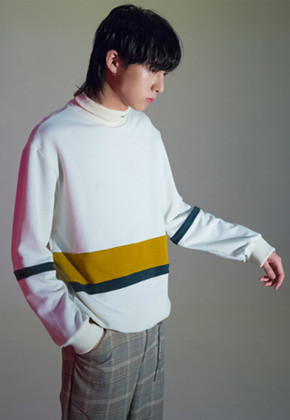 The Greatest더 그레이티스트 GT17 WINTER 01 Coloration Turtleneck IVORY