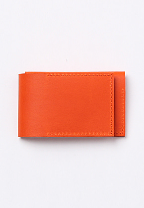 Son of Love DATA PLATE SERIES - TRIFOLD WALLET [ORANGE]