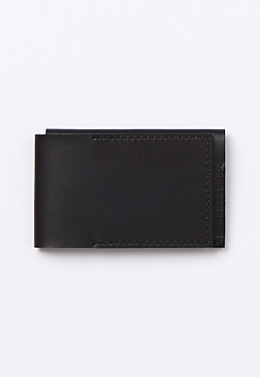 Son of Love DATA PLATE SERIES - TRIFOLD WALLET [BLACK]