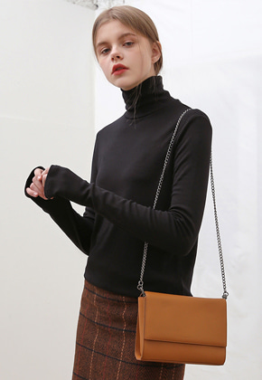 More or Less모어올레스 3-WAY LEATHER BAGBROWN
