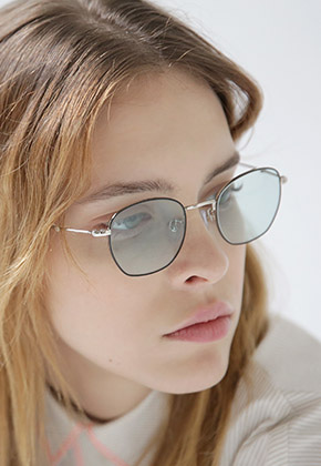 Bensimon Eyewear벤시몽아이웨어 No.5 Teapot-BlackSilver(SkyBlue Tint)